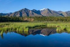 Lake on Alaska Stock Photo