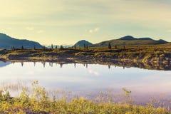 Lake in Alaska Stock Photos