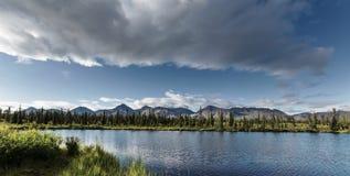 Lake in Alaska Royalty Free Stock Images