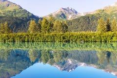 Lake on Alaska Stock Photography