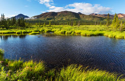 Lake in Alaska Stock Photography