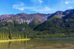 Lake in Alaska Stock Images