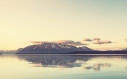 Lake on Alaska Stock Image