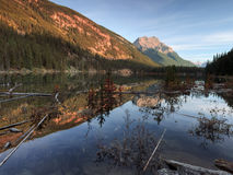 Lake in Alberta Canada Royalty Free Stock Image