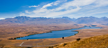 Lake Alexandrina in Canterbury, South Island, NZ Royalty Free Stock Images