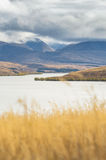 Lake Alexandrina in the cloudy day Royalty Free Stock Photo