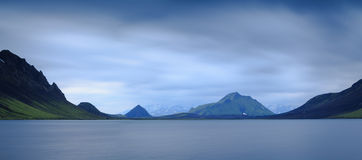 Lake Alftavatn Royalty Free Stock Photos