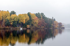 Lake in Algonquin Park Stock Photography