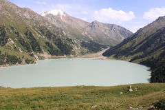 Lake of Almaty Stock Images