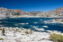Lake Aloha in Mountain Wilderness Royalty Free Stock Images