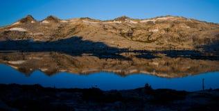 Lake Aloha Panoramic Reflection Stock Photography