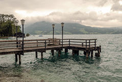 Lake Alpbach Stock Images