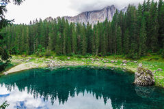 Lake in the Alps Royalty Free Stock Photo