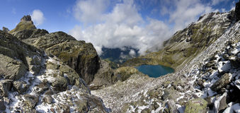 Lake in the Alps - Shottensee Stock Images
