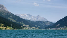 Lake in the Alps by Summer Stock Images