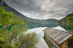 Lake Alpsee Stock Photography