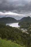Lake Alpsee in Germany Royalty Free Stock Photography