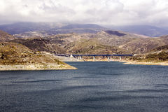 Lake in the Alpujarras Royalty Free Stock Images