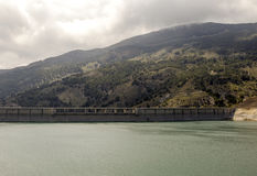 Lake in the Alpujarras Royalty Free Stock Photo