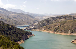 Lake in the Alpujarras Stock Images
