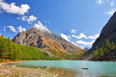 Lake in Altai Mountain Royalty Free Stock Photos