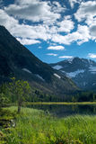 Lake in the Altai mountains, Russia Royalty Free Stock Photography