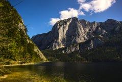 Lake Altaussee in early autumn, Austria Stock Photo