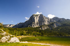 Lake Altaussee in early autumn, Austria Royalty Free Stock Images