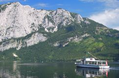 Lake Altausseer See,Styria,Austria Royalty Free Stock Photo
