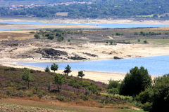Lake of Alto Rabagao in North Portugal Royalty Free Stock Image