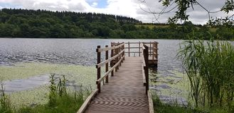 The lake of Blarney castle royalty free stock photography