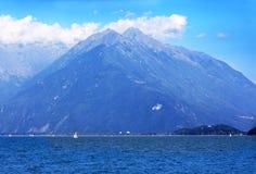 Lake And Mountain Stock Photo