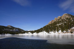 Lake And Mountain Stock Images