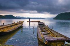 Lake And Ship Royalty Free Stock Photography