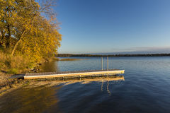 Lake Andrew In Autumn royalty free stock image