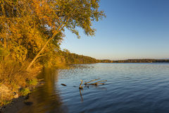 Lake Andrew In Autumn Stock Images