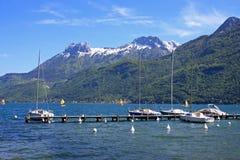 lake annecy Zdjęcie Royalty Free