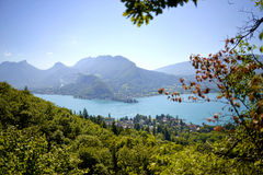 Lake of Annecy Stock Photos