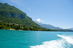 Lake Annecy in France Stock Photo