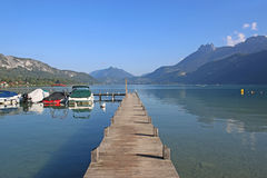 Lake Annecy, France Stock Image