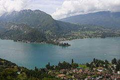Lake of Annecy in France Stock Photo