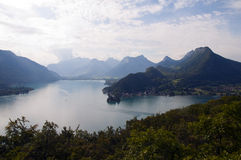 Lake of Annecy in France Royalty Free Stock Photography