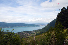 Lake of Annecy in France Royalty Free Stock Images