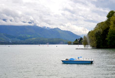 Lake Annecy in France Stock Images