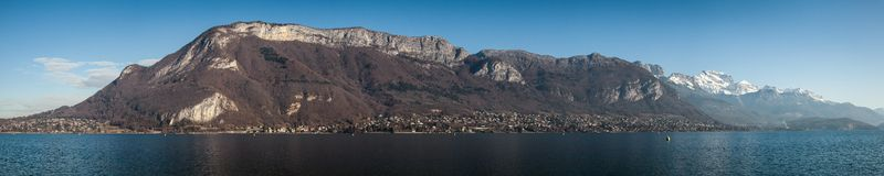 Lake Annecy, French Alps Stock Photos