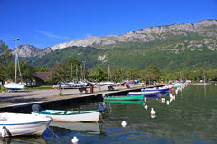 Lake Annecy Royalty Free Stock Photography
