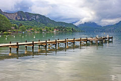 Lake Annecy Stock Image