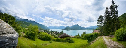 Lake Annecy Stock Images