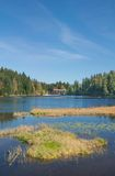 Lake Arber,Bavarian Forest,Bavaria,Germany Stock Image