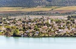 Lake of Arcos de la Frontera Stock Photography